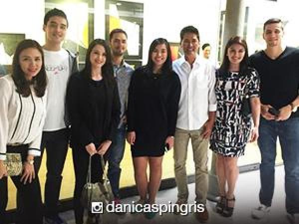 Vic sotto s daughter paulina opens first art exhibit gmanetwork