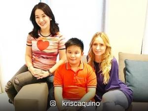 Kris Aquino's sons celebrate birthday of James Yap's girlfriend