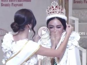 WATCH: Kylie Verzosa's crowning moment in the Miss International 2016