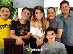 LOOK:  Japanese sexy star Maria Ozawa shoots with the guys of 'Pepito Manaloto'