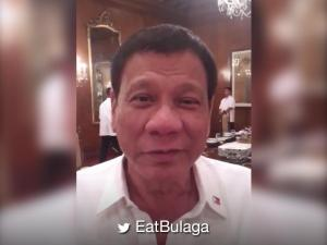 WATCH: President Rodrigo Duterte's anniversary message for 'Eat Bulaga'