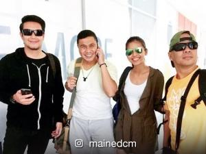 WATCH: Maine Mendoza at JoWaPao, sinayaw ang 'Haha Shake Shake'