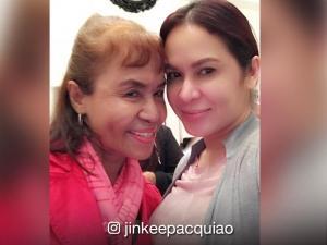 LOOK:Mommy Dionesia Pacquiao, kasalukuyang nagpapagaling sa ospital