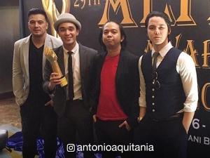 'Bubble Gang' boy group P.A.R.D., big winner at the 29th Aliw Awards!