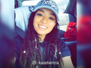 Kai Atienza chops off her dreadlocks