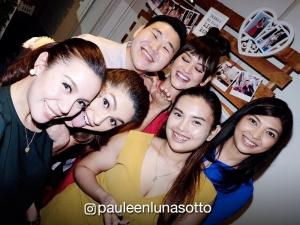 Pauleen Luna and friends surprise Miss Universe Pia Wurtzbach on her 27th birthday
