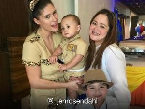 READ: Former Viva Hot Babe Jen Rosendahl's birthday message to her son will leave you in tears