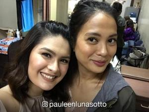 Isabelle Daza visits former colleagues in 'Eat Bulaga'