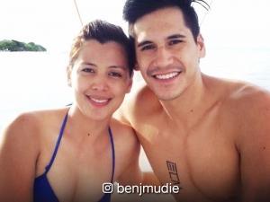 Benj Mudie talks about girlfriend Rich Asuncion's beauty pageant days