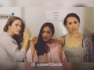 MUST-SEE: 'Bubble Gang' girls beltout song especially dedicated toshowbiz hottie Jak Roberto
