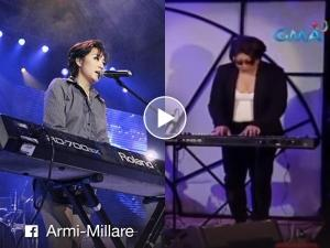 Why is Armi Millare of Up Dharma Down afraid to sing her own song 'Tadhana'?