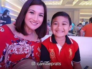 WATCH: Camille Prats and son Nathan do the #FettyWapChallenge
