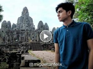 WATCH: Miguel Tanfelix in Cambodia