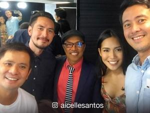 Aicelle Santos performs alongside OPM icons