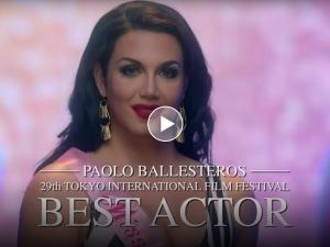 WATCH: Paolo Ballesteros's new 'Die Beautiful' movie trailer