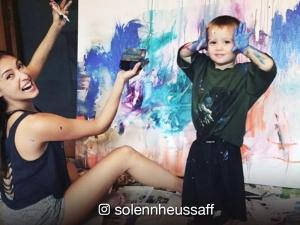 WATCH: Solenn Heussaff, balak magkaroon ng art exhibit kasama ang pamangkin na si Kaeden Small