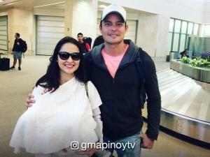 'Yan ang Mommy!: Marian Rivera nag-breastfeed kay Baby Zia sa airport