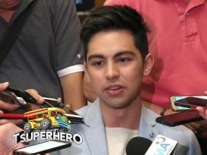 Derrick Monasterio aminadong na-conscious ng isinuot ang kaniyang 'Tsuperhero' costume