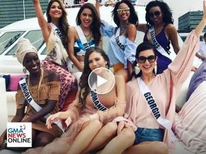 WATCH: Miss Universe candidates, nakisayaw ng Patong kasama ang mga katutubo sa Baguio