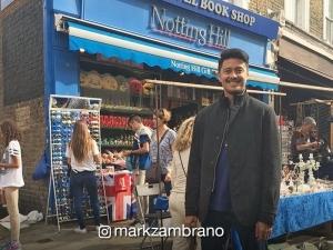 LOOK: Mark Zambrano poses ala Hugh Grant in 'Notting Hill'