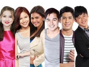Which films in Cinemalaya include Kapuso stars?