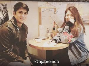 LOOK: Ex-lovers Aljur Abrenica and Kylie Padilla in Japan