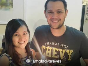 Gladys Reyes and Christopher Roxas celebrate 24 years of togetherness