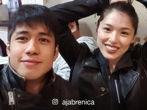 Aljur Abrenica and Kylie Padilla post photos of each other