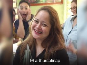 Stars celebrate the big win of Manilyn Reynes at the PMPC Star Awards for Music and TV