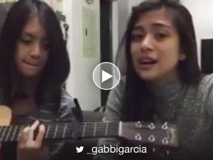 WATCH: Gabbi Garcia sings a mellow cover of 'Walang Hanggan'