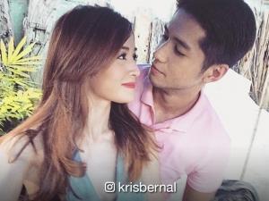 LOOK: Aljur Abrenica at Kris Bernal, nagpakilig ng netizens sa kanilang litrato