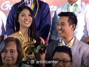 Ken Chan and Sanya Lopez get recognized by Gintong Kabataan Awards