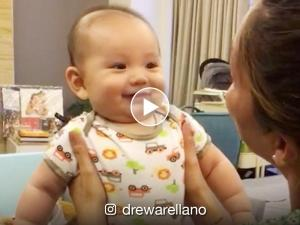 WATCH: Baby Primo Arellano's first giggle and first words
