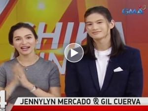 WATCH: Jennylyn Mercado, nagpa-sample ng iconic 'sorry' line mula sa 'My Love From the Star'