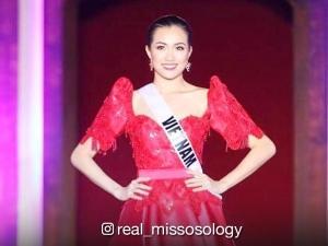 WATCH: Miss Vietnam, natapilok sa Miss Universe swimsuit fashion show!
