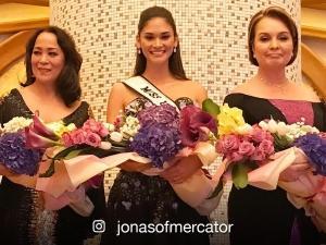 LOOK: Miss Universe winners Gloria Diaz, Pia Wurtzbach, and Margie Moran in one photo!