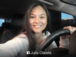 LOOK: Is Julia Clarete in Manila?