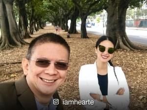 Heart Evangelista goes on a sweet date with husband Chiz Escudero