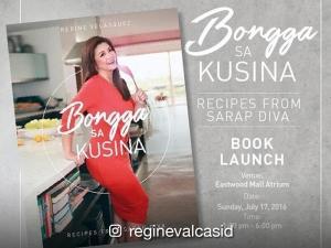 Regine Velasquez-Alcasid's 'Bongga sa Kusina' cookbook to launch today