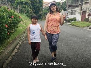 WATCH: Ryzza Mae Dizon goes jogging