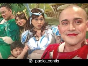 LOOK: Paopao of 'Encantadia' spotted taping for 'Bubble Gang'