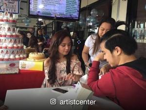 Jake Vargas and Inah de Belen's fans throw a surprise birthday party for the Kapuso actress