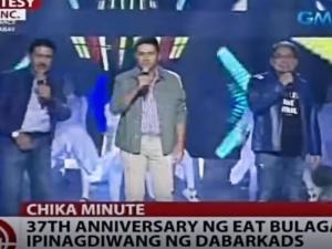 Dabarkads, may pasabog na performances sa 37th anniversary ng 'Eat Bulaga'