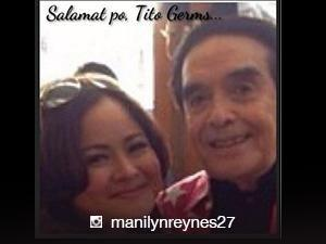'It's time to let go' - Manilyn Reynes as Kuya Germs is laid to rest