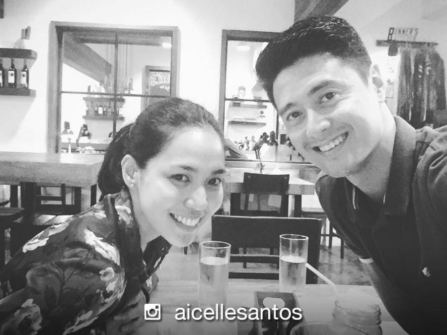 Aicelle Santos, ipinakilala na si Mark Zambrano sa kanyang pamilya at barkada