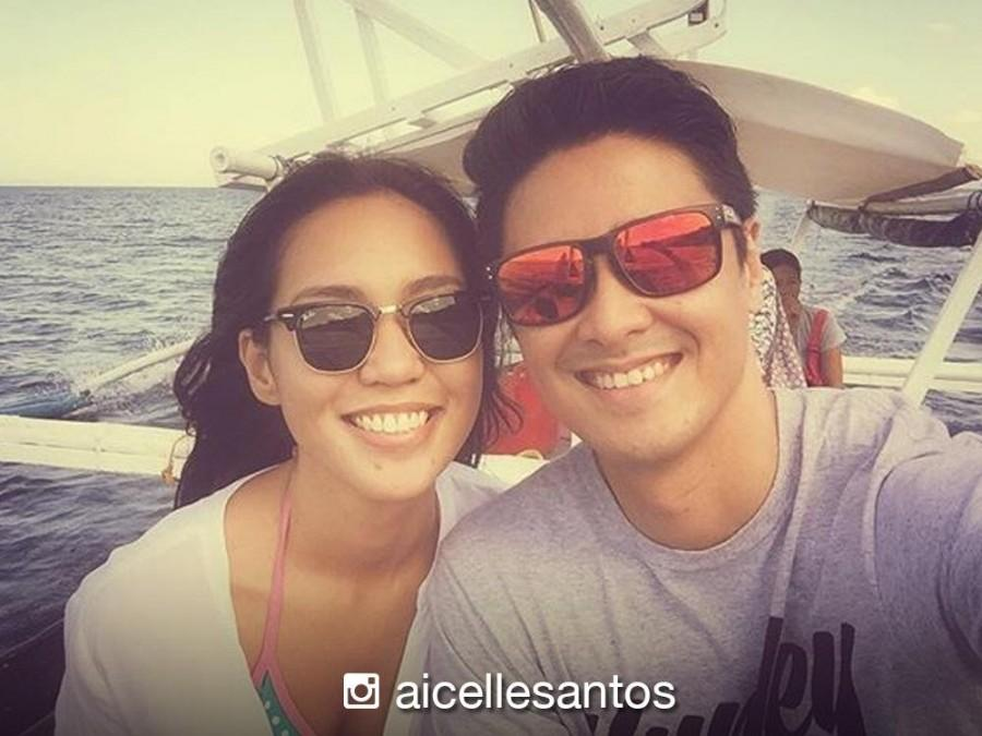 Aicelle Santos goes on vacation with