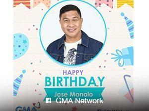 Dabarkads and netizens celebrate the birthday of 'Eat Bulaga' star Jose Manalo