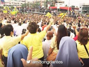 Dingdong Dantes and other celebs commemorate 30th Anniversary of the EDSA revolution