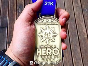 Dingdong Dantes dedicates 21km run to his hero Marian Rivera Dantes
