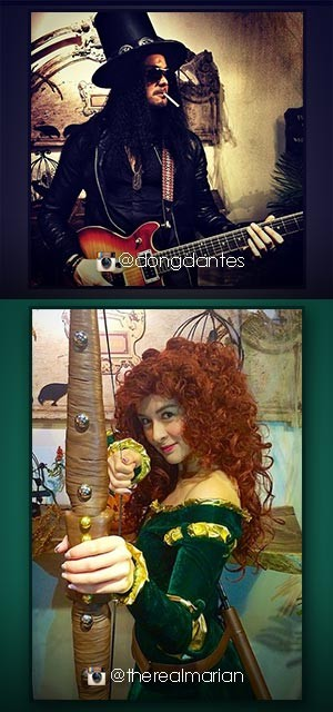 DongYan celebrate Halloween in iconic costumes